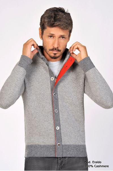 Image sur Custom Cardigan 100% Cashmere - Eraldo