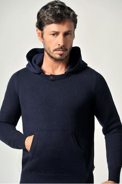 Picture of Custom detachable hoodie 100% Cashmere - Mariano