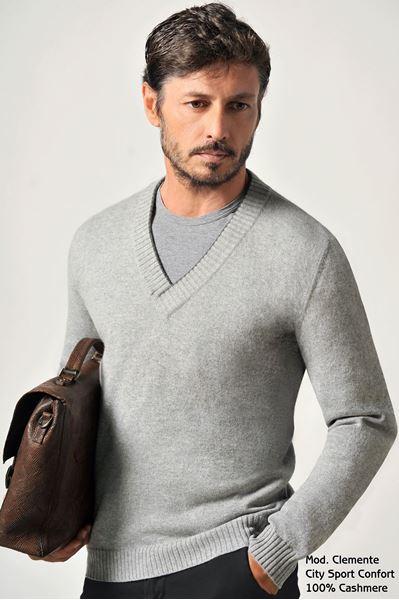 Image sur Custom Sweater 100% Cashmere - Clemente Bassa