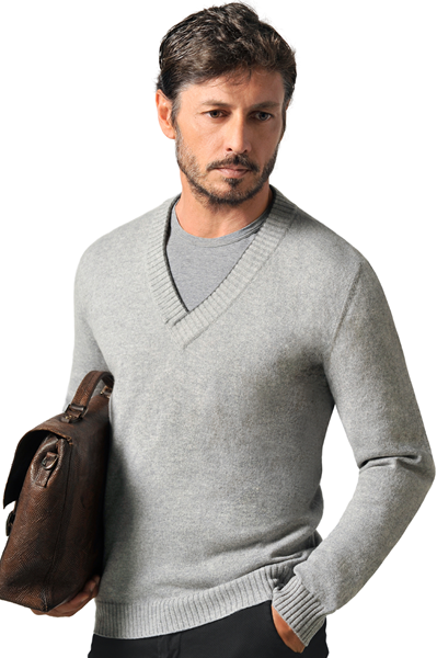Paolamela Custom-made sweater 100% cashmere made in Italy - Clemente Bassa