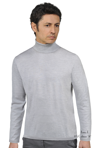 Paolamela Custom-made turtle neck 100% cashmere made in Italy - Enrico