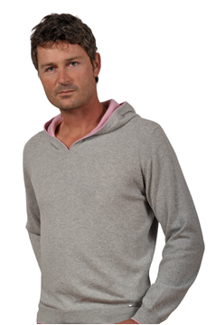 Paolamela Custom-made hoodie 100% cashmere made in Italy - Ubezio
