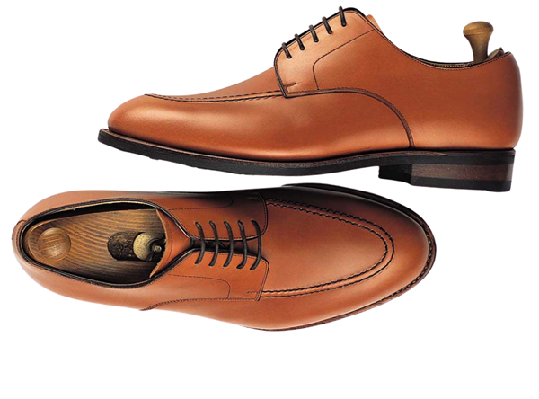 Custom shoes Miyagi Kogyo ES15 mid brown calf leather derby