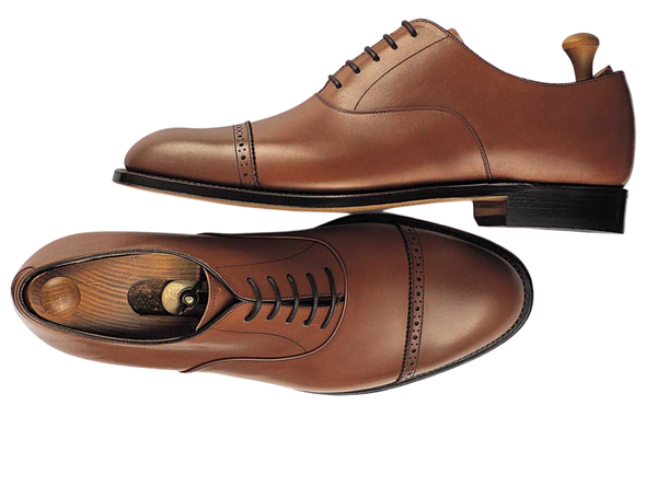 Custom shoes Miyagi Kogyo ES03 mid brown calf leather