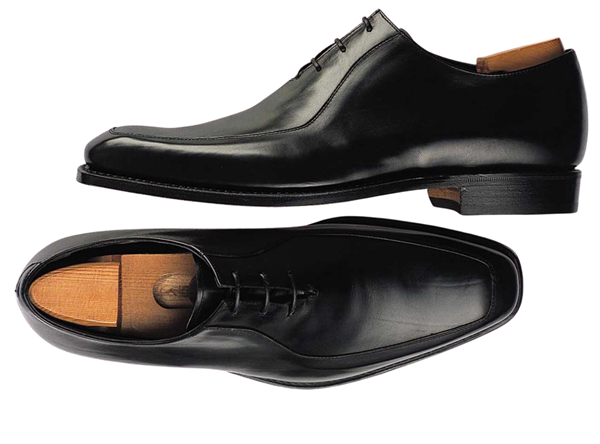 Custom shoes Miyagi Kogyo CS-108 smooth black oxford