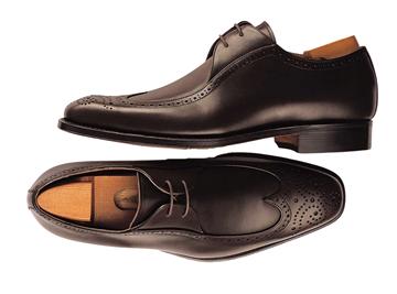 Custom shoes Miyagi Kogyo CS-105 black derby