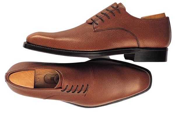 Custom shoes Miyagi Kogyo CS-103 brown derby