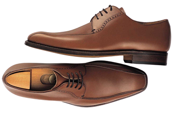 Custom shoes Miyagi Kogyo CS-102 brown derby