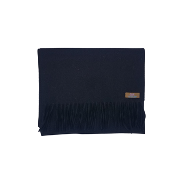 Lovat Mill angora scarf solid black