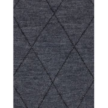 Marcoliani Milano grey diamond wool blend socks