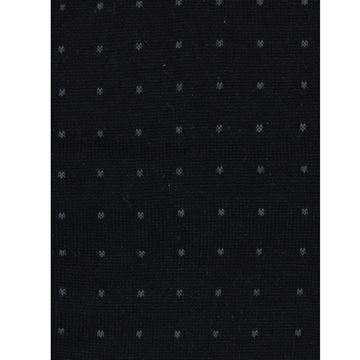 Marcoliani Milano grey on black pin dot modal blend socks