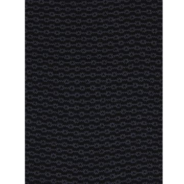 Marcoliani Milano grey on black chainstitch cotton blend socks