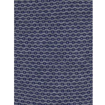 Marcoliani Milano navy on grey chainstitch cotton blend socks