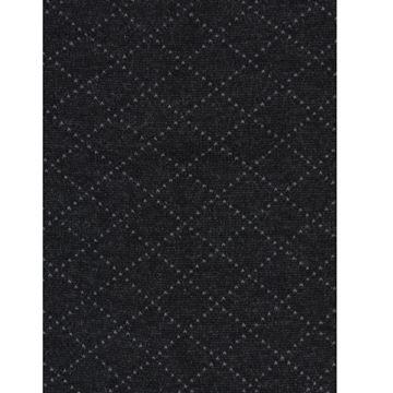 Marcoliani Milano grey on charcoal diamonds cotton blend socks