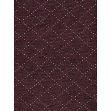 Marcoliani Milano beige on burgundy diamond cotton blend socks