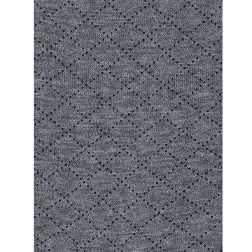 Marcoliani Milano black on grey diamond cotton blend socks