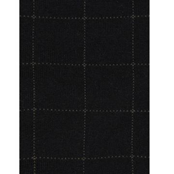 Marcoliani Milano grey on black check modal blend socks