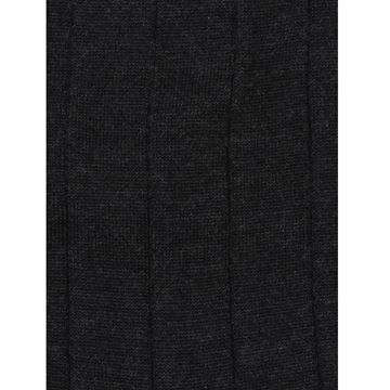 Marcoliani Milano charcoal cashmere and silk blend socks