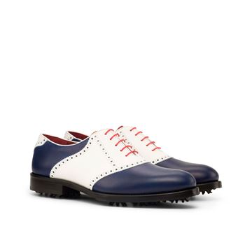 Arthur MTO Custom golf shoes 3815 saddle