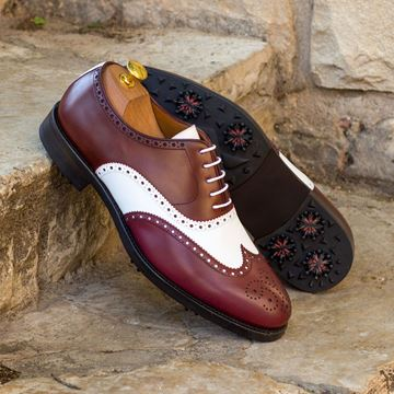 Arthur MTO Custom golf shoes 4259 wingtips