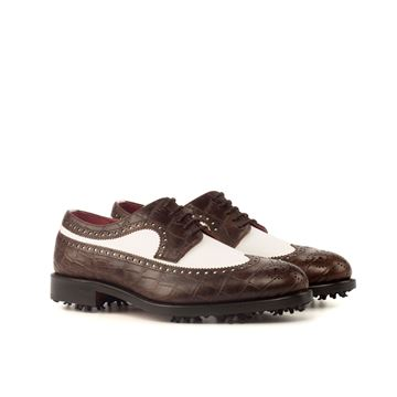 Arthur MTO Custom golf shoes 3732 longwing butcher