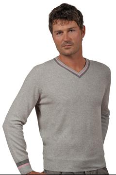 Paolamela Cashmere Custom 100% Cashmere v-neck Sweater - Giorgio