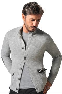 Paolamela Cashmere Custom 100% Cashmere Cardigan with pockets - Giuseppe Bassa