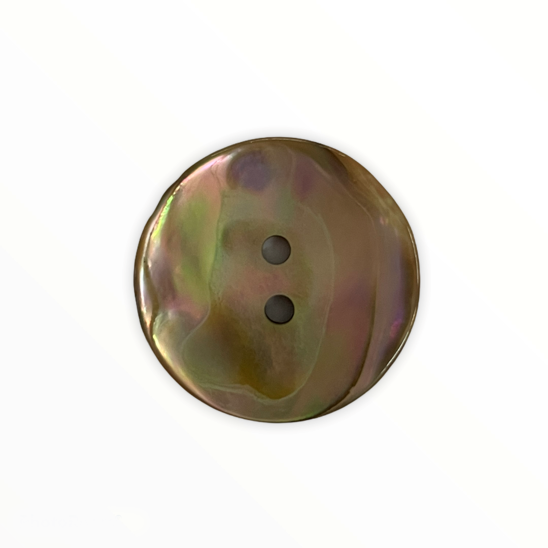 2 Hole Natural Mother of Pearl