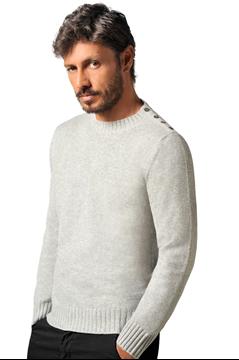 Paolamela Cashmere Custom crew neck 100% Cashmere sweater - Fabrizio Bassa
