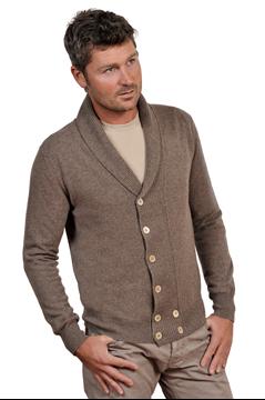 Paolamela Cashmere custom 100% Cashmere shawl collar cardigan - matteo