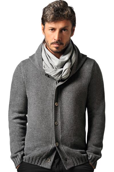 Paolamela Cashmere Custom 100% Cashmere 4 ply hoodie - flavio