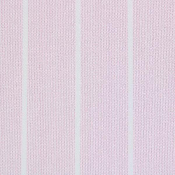 Pink and White Butcher Stripe shirt fabric g136