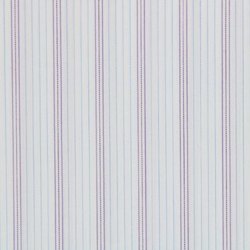 Purple and Blue striped shirt fabric - G174