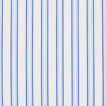 Blue and Navy Stripes shirt fabric G99