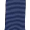 Marcoliani Milano navy and grey horizontal striped cotton blend socks