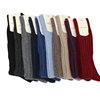 Marcoliani Milano berry ribbed cashmere blend socks