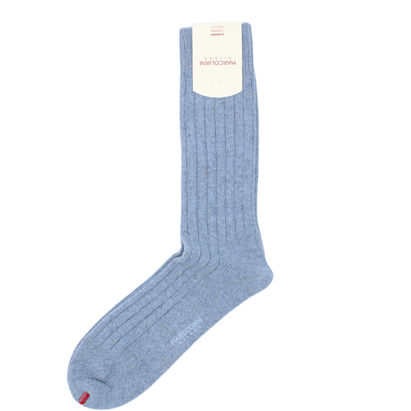 Marcoliani Milano light blue cashmere blend socks