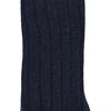 Marcoliani Milano navy blue cashmere blend socks