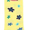 Marcoliani Milano yellow, navy and aqua floral cotton blend socks