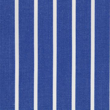 Navy and White Butcher Stripes shirt fabric T166