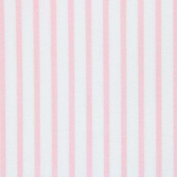 Pink on White Pinstripes shirt fabric T159