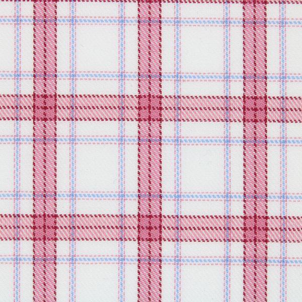 Pink and Blue Checks shirt fabric G263