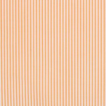 Orange and White Pencil Stripe shirt fabric G168