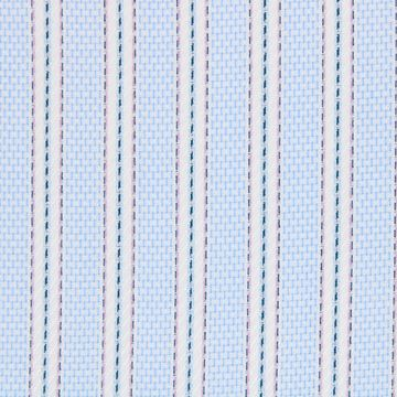 Purple and Blue Stripes shirt fabric g266
