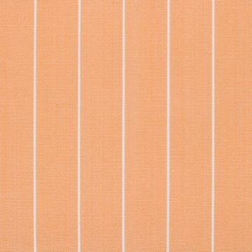 White Pinstripes on Orange shirt fabric T271