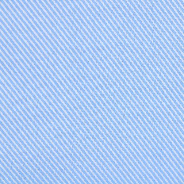 Solid Blue Twill shirt fabric L46