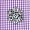 Picture of Purple and White Gingham Checks